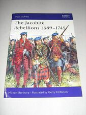Men-At-Arms: The Jacobite Rebellions 1689-1745 118 by Michael Barthorp (1982,...