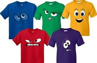 Characters faces inside out movie Halloween Christmas  t-shirts