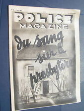 Police 1935 225 MAINCY SAINT LAURENT D'ANDENAY lesbos