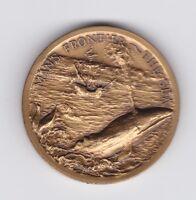 1953 City of Caulfield Victoria Australia Coronation Medal Queen Elizabeth H-826