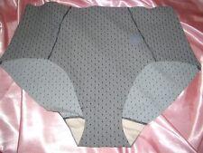 Tolles glattes Nylon Höschen ca. XXL gemustert Nylonslip Schlüpfer Panty (B407)
