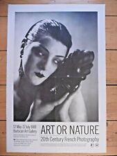 Original Poster Photography Man Ray 1988