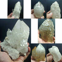 Exceptional lot of Cathedral Quartz Crystals from -Mix Locality- Pakistan 7pcs