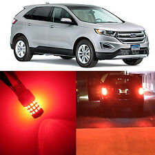 Alla Lighting Brake Turn Signal Light 3157K Red 12V LED Bulb for 07~14 Ford Edge