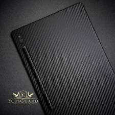 SopiGuard 3M Avery Carbon Fiber Skin Back and Sides for Samsung Galaxy Tab S6