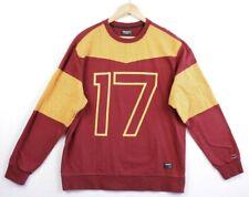 Trukfit Mens Crewneck Sweatshirt Cotton Size XXL Pullover Long Sleeve Red Yellow
