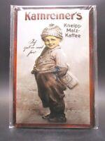 Kathreiner Malz Kaffee Blechschild Metall Schild 30 cm tin sign,Neu