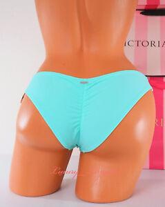 XS X-Small PINK VICTORIA'S SECRET VS Swim Back Ruched Cheeky Bikini Bottom Mint