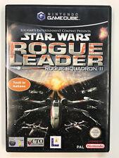 Nintendo GameCube STAR WARS ROGUE LEADER ROGUE SQUADRON II PAL ITA