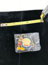 1988 Disney Happy Birthday Mickey Mouse 60th & Kodak 100th Anniversary Promo Pin