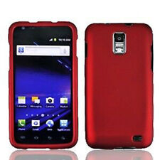 For Samsung Skyrocket Galaxy S II 2 Rubberized HARD Case Phone Cover Red