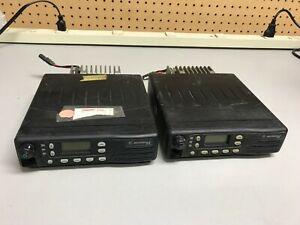Lot of 2 Motorola GTX Mobile Radio M11URD6CB1AN Untested