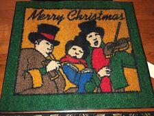 "Milliken Christmas Holiday Area Rug - Carolers - Approx 2'6""x3'"
