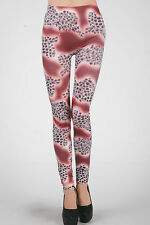 Pealu-Space COLORATI stampate Leggings in taglia unica