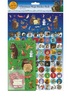 GRUFFALO's CHILD CHRISTMAS Mega Pack of Stickers, Loads of Stickers A4 Size