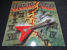 Metal Church signed signé autographes sur TIME TO ROCK Vinyle LP inperson Look