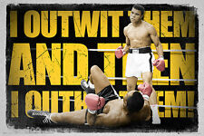 MUHAMMAD ALI KNOCK OUT 61 x 91.5cm SPORT BOXING LEGEND POSTER BRAND NEW GIFT