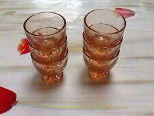 lot de 6 verres à liqueur annees 40/50