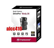 Transcend DrivePro Body 20 1080p HD Video Camera w/Built-In Microphone 32GB MLC