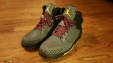 NIKE Air Jordan Son Of Mars Cool Gray Black Cement Bordeaux Red Mens size 10.5