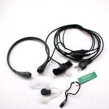 Us Throat Mic Earpiece/Headset Cobra 2 Way Radio Mt500 Mt700 Mt725 Mt900 Mt950