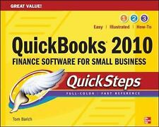 NEW - QuickBooks 2010 QuickSteps by Barich,Thomas