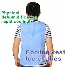 Riding Fishing Ice Vest Cooling Men Women Insulated Suit Heat Stroke Outdoor