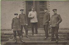 WW1 Foto AK Offiziere Rastatt FP
