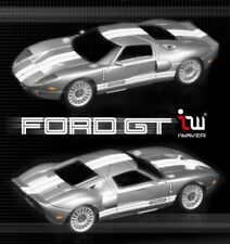 A02102106  IWAVER 1:28 02M FORD GT ARGENTO