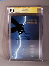 BATMAN: The Dark Knight Returns #1 CGC 9.8 SS Signed by FRANK MILLER DC 3/1986