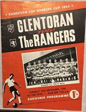 More details for 1966 glentoran vs glasgow rangers programme