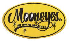 "27"" X 16"" Mooneyes Yellow Oval Script Logo Home Carpet Floor Mat MG458MO"