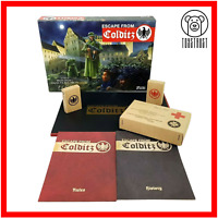 Escape From Colditz Board Game Osprey Edition 75th Anniversary Edition Unpunched
