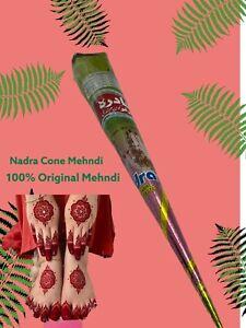Nadra Parlour  Cone Mehndi Darkest Maroon Henna Paste - 2 Cones