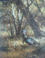 "Robert K. Abbett,- ""Wild Turkey""  Bird - Wildlife Art Print-- 11 x 12"