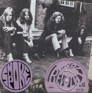 """SMOKE Dreams Of Dreams 2 x vinyl 7"""" psych prog 1970 Revolution Johnny Winter"""