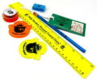 Smokey the Bear Collectibles Lot of Ruler Bookmark Pencil Sharpener 1990's