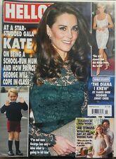 Hello 10 April 2017 At A Star Studded Gala Kate Middleton Diana FREE SHIPPING sb