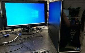 Dell Inspiron 570 Desktop AMD Athlon II X4 @2.80Ghz 8GB RAM 500GB HDD Windows 10