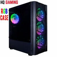 ULTRA FAST I5 QUAD CORE RGB PC Tower 8GB RAM 1TB HDD & Win 10 WIFI