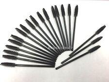 Disposable Eyelash Brush Mascara Wands Applicator Spoolers Makeup 100 PCS