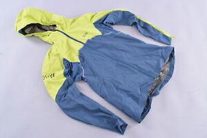 GORE Wear R7 Partial Gore-Tex Infinium Running Wind Jacket Small Blue/Green