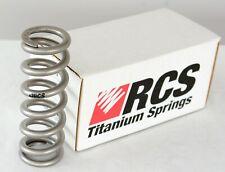 """RCS Renton Coil 1.43"""" Diameter Titanium Spring 2.75-3.00""""S x300#, shock ti FOX"""
