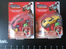 2 ROBOT Hasbro TRANSFORMERS Autobot Toys Android Super Power Robot Red + Yellow