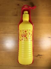 Vintage M&M's World Pet Water Bottle Tray Dog Cat Dish Red Yellow Hydration