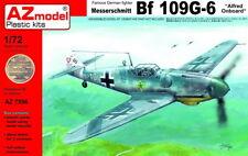 """AZ Models 1/72 Kit 7596 Messerschmitt Bf-109G-6 """"Alfred on-board"""""""