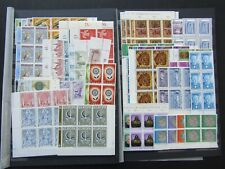 LUXEMBOURG - FINE MNH COLLN OF BETTER SETS  IN BLOCKS OF 6 - CAT £700+