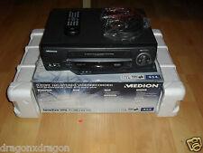 Medion 2485 6-Head VHS-Videorecorder, in OVP & sehr gepflegt, 2 Jahre Garantie