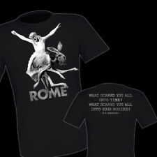 ROME - FESTER T-SHIRT !!!  Death in June Blood Axis Of The Wand And The Moon