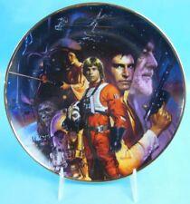 Hamilton Collection Star Wars Plate Star Wars Trilogy #2661F Morgan Weistling